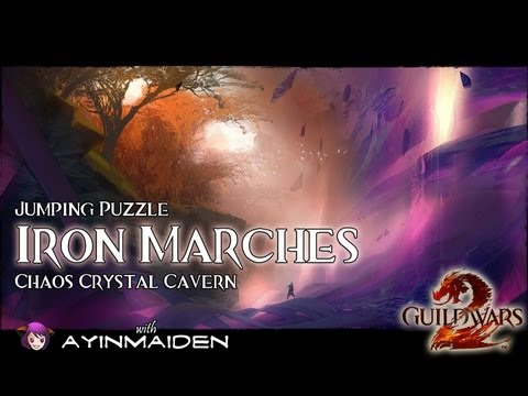 ★ Guild Wars 2 ★ - Jumping Puzzle - Iron Marches (Chaos Crystal Cavern)