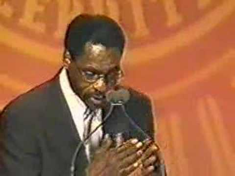 "Keynote Speaker: Rubin Carter  - ""The Hurricane"""