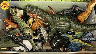 New Jurassic World 50 Gallon Surprise Box Dinosaur Toys Fallen Kingdom Mattel  T-Rex, Spinosaurus