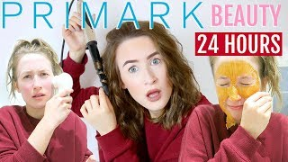 I Used Only PRIMARK BEAUTY For 24 HOURS… (NEW Makeup, Skincare, Hair Tools etc...) | Sophie Louise