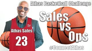 Athas Capital Basketball Game: Challenge Accepted!