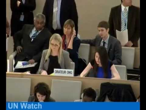 UN Watch exposes Sri Lanka's human rights record