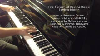 (Piano) Final Fantasy VII Opening: Bombing Mission
