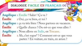 Dialogue facile en français 7