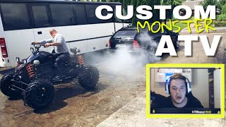 Kev REAGIERT auf Custom MONSTER ATV  1.9L TURBODIESEL
