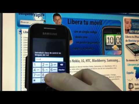 Liberar Samsung S5360 Galaxy Y en minutos. Movical.Net