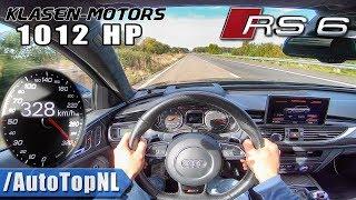1012HP AUDI RS6 Akrapovic | Klasen Motors | 300+km/h AUTOBAHN POV by AutoTopNL