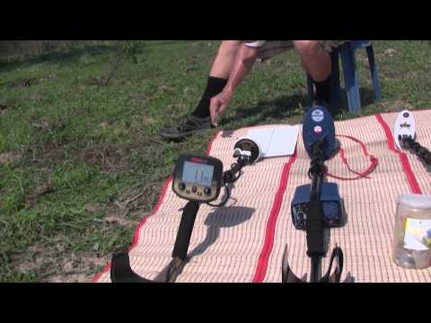 Comparison between Minelab Eureka Gold. Fisher Gold Bug 2 and Fisher Gold Bug Pro