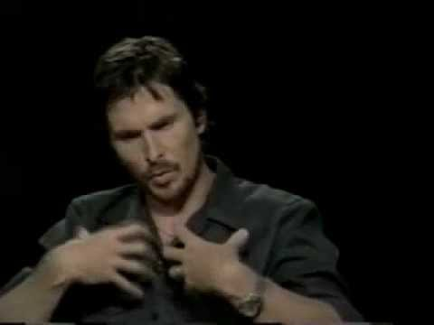 Batman Begins: Christian Bale + Christopher Nolan Interview W/Charlie Rose (2005)