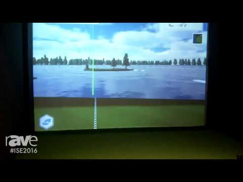 ISE 2016: Foresight Sports Europe Reveals Golf Course Simulator with FSX Software and 4K Display