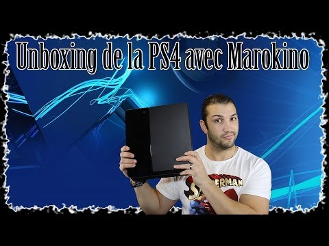 Unboxing PS4 avec Marokino + Interface et gameplay Ghosts