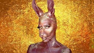 Chocolate Easter Bunny Makeup Tutorial