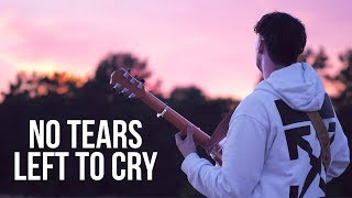 Download Lagu Ariana Grande - no tears left to cry - Fingerstyle Guitar Cover Gratis STAFABAND