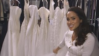 Meghan Markle Already Had Her First Wedding Dress Fitting -- Details!