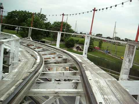 Little Dipper rollercoaster at Kiddieland, Melrose Park IL Video