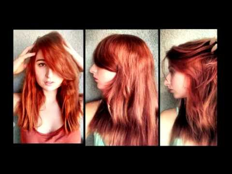 How to Enhance the inside out hair color - demonstration