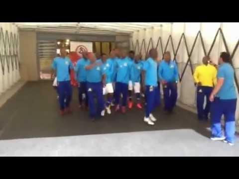 Mamelodi Sundowns   Ka Bo Yellow (tunnel).MOV