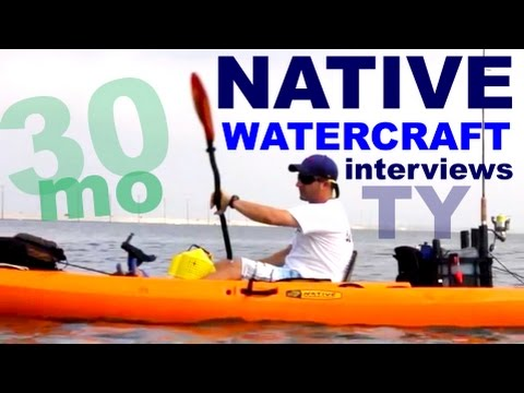 30milesOUT.com- KAYAK FISHING w/ NATIVE WATERCRAFT ,TY INTERVIEW ,kayak fishing HOW TO