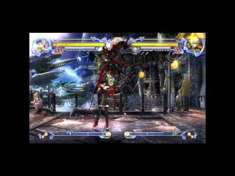 BlazBlue Calamity Trigger PC Gameplay