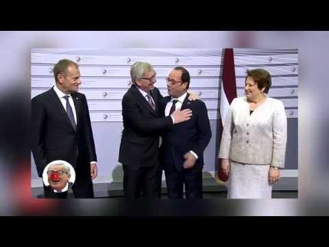 Jean Claude Juncker: la honte de l'Europe