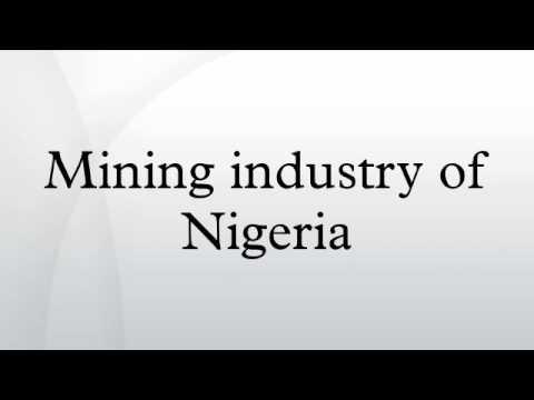 Mining industry of Nigeria