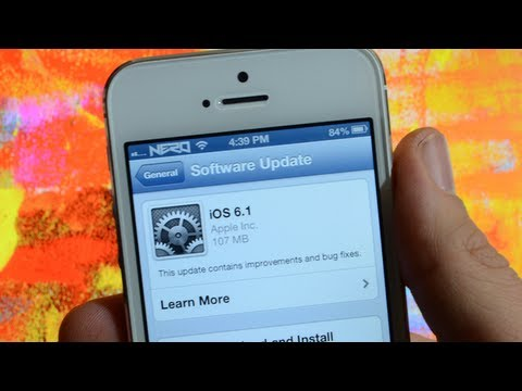 iOS 6.1 Update & Untethered Jailbreak Info For iPhone 5. iPod Touch 5G. iPad mini & iPad