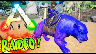 RAIDEOS EN ARK!! BUSCANDO CASAS Y CONOCIENDO SUPER BASES ARK SURVIVAL EVOLVED MODS Raideos Makigames
