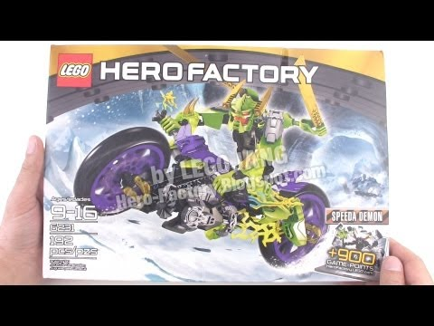 Hero Factory: Speeda Demon pt. 1 - PARTS (Breakout wave 2)