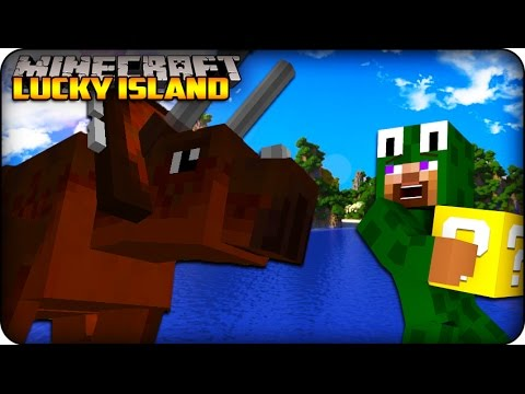 Minecraft - Lucky Block Survival Island - 'dinosaurs? ' (lucky Block Mod) #15 video