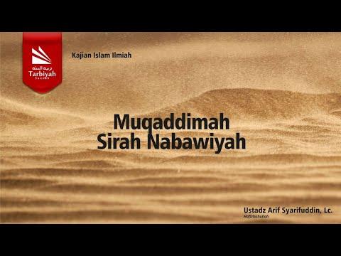 Ust Arif Syarifuddin, Lc   Siroh NabawiyahKitab Ar Rahiqul Makhtum