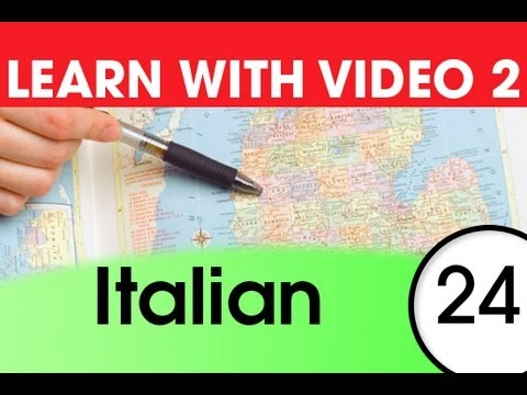 Learn Italian with Video - 5 Must-Know Italian Words 1