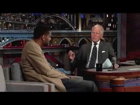 Tim Duncan David Letterman Interview NBA Championship San Antonio Spurs 2014
