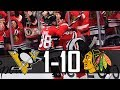 Blackhawks vs Penguins | 10-1 | Highlights (Oct. 5, 2017) [HD]
