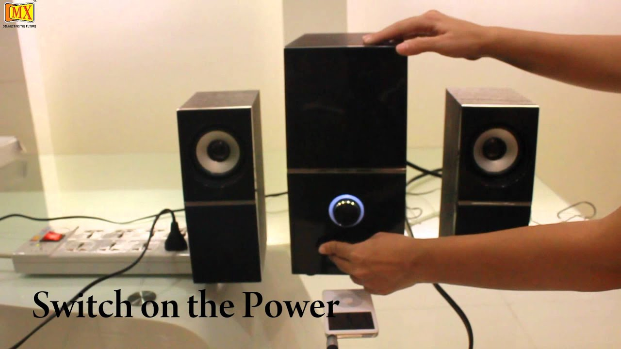 How To Connect Ipod Mp3 Player To Pc Speakers Youtube