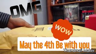 Unboxing Star Wars #MayThe4th #Unboxing #Amazon