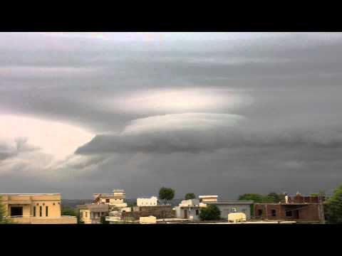 Cloudy Weather In Islamgarh mirpur azad kashmir pakistan part 1 Full HD