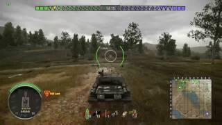 WoT Xbox One Stream Highlight - First Game In The SU-122-44
