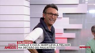 NETO: SE TIVER MEDO DE ENFRENTAR O CORINTHIANS, O SÃO PAULO PERDE OS DOIS JOGOS