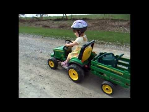 My Big Green Tractor video