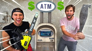 First to Break In The ATM Wins Money Inside! *$10,000?*