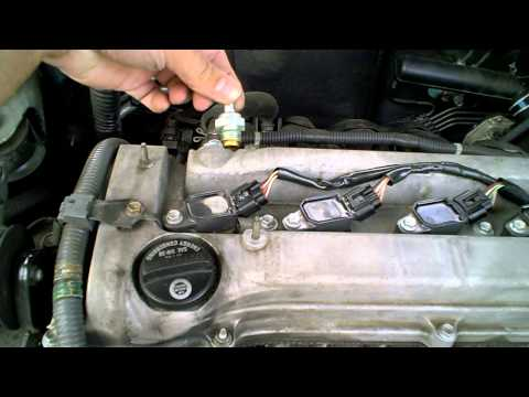 2005 Toyota Camry PCV Valve replacement.