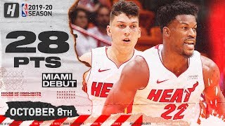 Jimmy Butler & Tyler Herro Miami Heat Debut Highlights vs Spurs | October 8, 2019