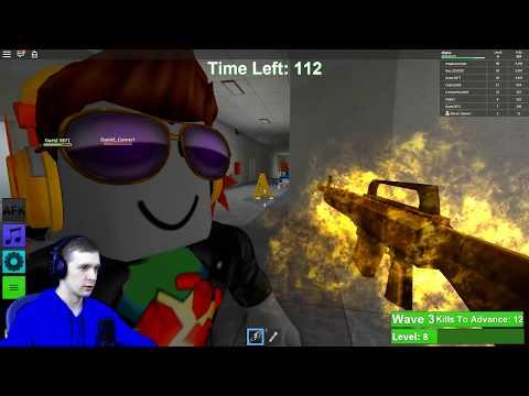 ЗОМБИ Апокалипсис в ROBLOX Зомби ЗАХВАТИЛИ ПЛАНЕТУ в Роблокс FFGTV выживаем с Зомби Zombie Rush