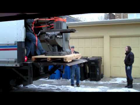 Moving a Milling Machine and a Engine Lathe
