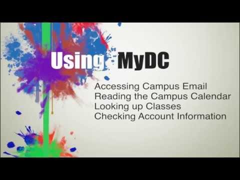 Navigating MyDC at Darton State College