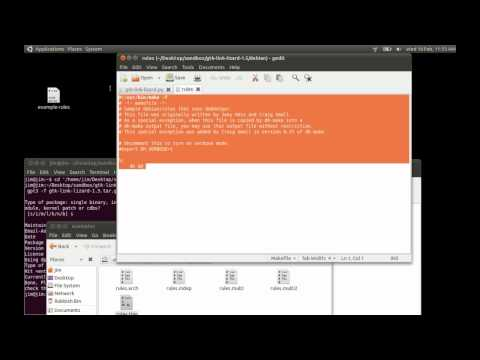 How to build a simple Debian package (*.Deb)