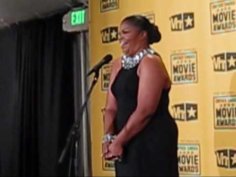 Mo'nique Responds To Criticism At The Critics Choice Awards video