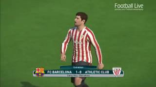 Barcelona Vs Athletic Bilbao Full Match And Amazing Lionel Messi PES 2017 Gameplay