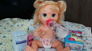 Rotina da noite da Baby Alive Sophia com muita diversão!! baby doll alive