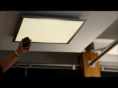 licht wie man es sich gerade w nscht deckenleuchte liv von wofi youtube. Black Bedroom Furniture Sets. Home Design Ideas